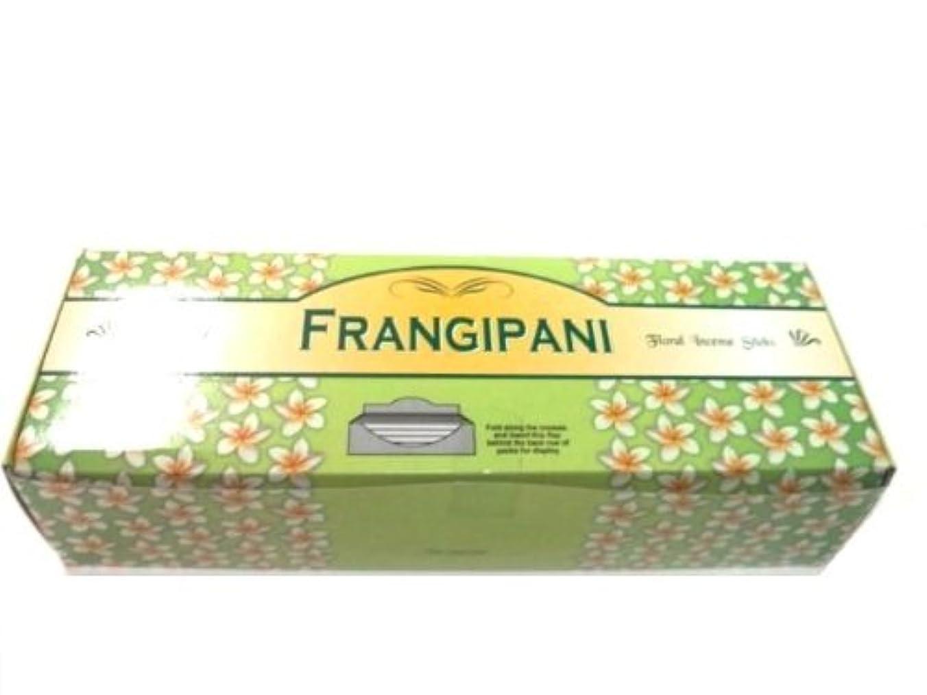 形成リダクター首尾一貫したTulasi フランジパニ(FRANGEPANI)香 スティック 6角(20本入り)×6箱 HEXAPACK