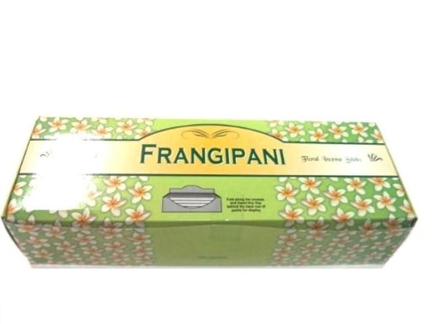 オペラ更新する充実Tulasi フランジパニ(FRANGEPANI)香 スティック 6角(20本入り)×6箱 HEXAPACK