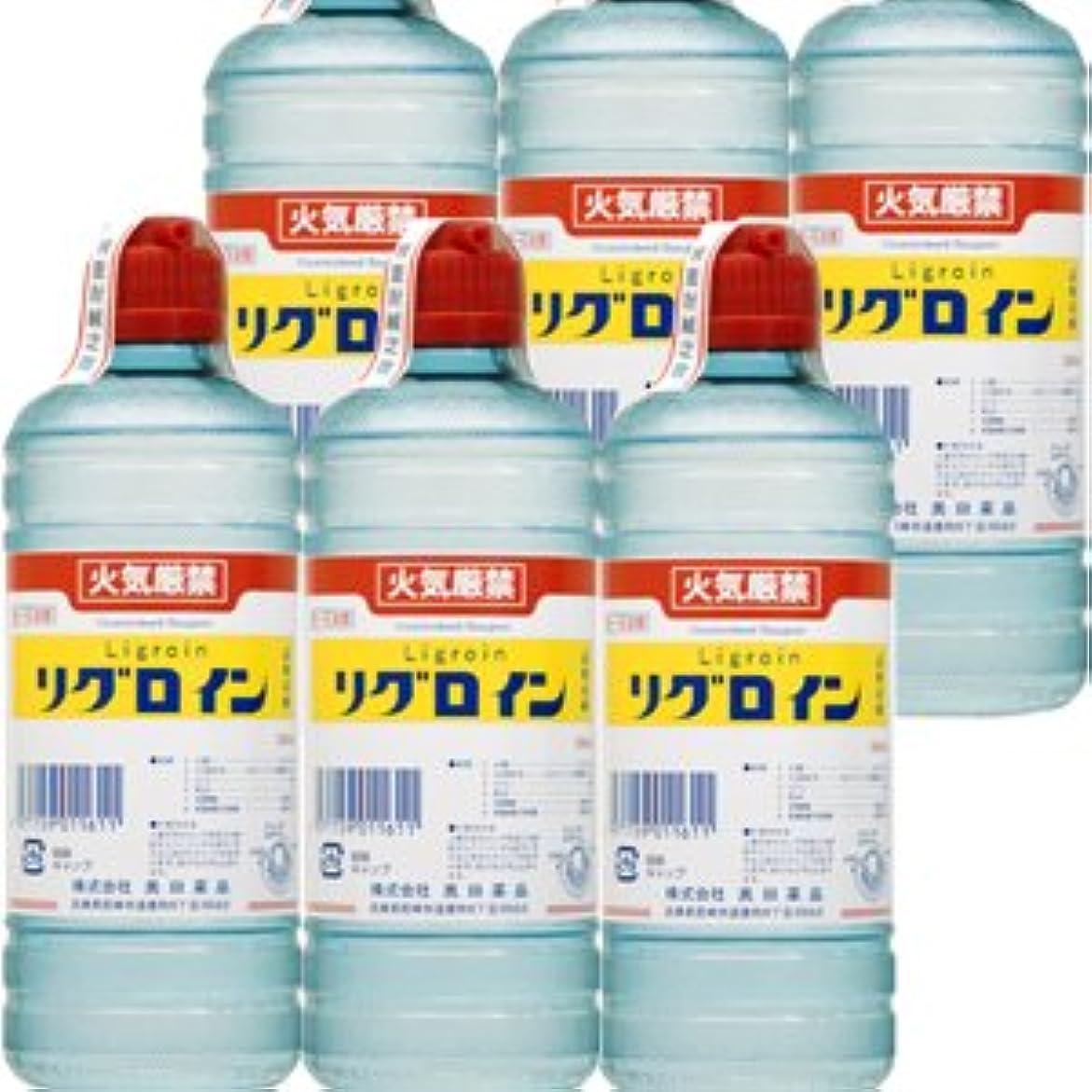 リズム作る救い【6個】 オクダ化学工業 リグロイン 500mlx6