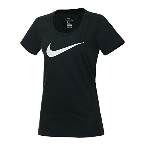ナイキ(NIKE) ウィメンズ ドライ DRI-FIT スクープ S/S Tシャツ 894664 011 ブラック M