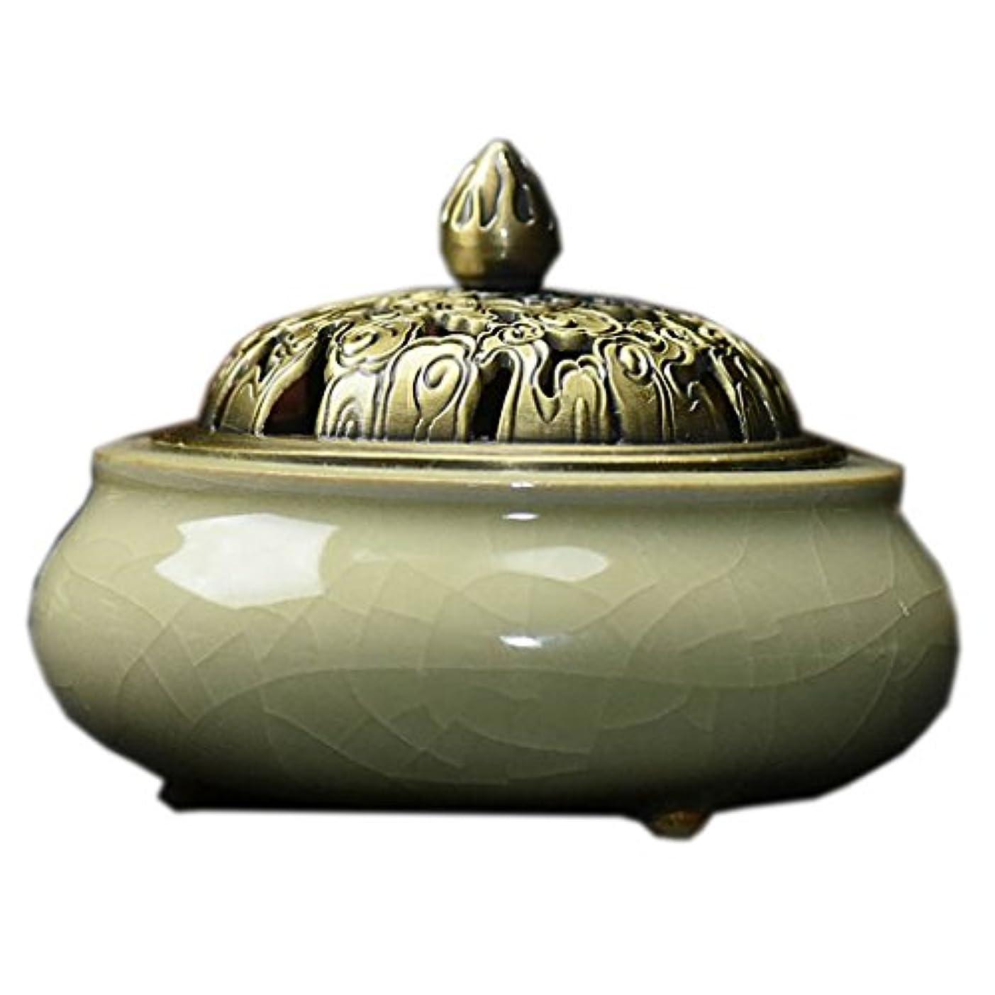 レオナルドダすばらしいですたとえ(ラシューバー) Lasuiveur 陶磁器 香炉 香立て 渦巻き線香 線香立て お香立て