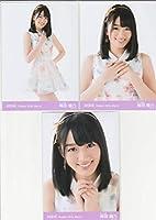 AKB48 梅田綾乃 月別 劇場 生写真3枚コンプ 2016 March 3月 清水綾乃