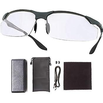 Milva ブルーライトカットメガネ UVカット メガネ PC用 ゲーミング uvカット 眼鏡 (シルバー)