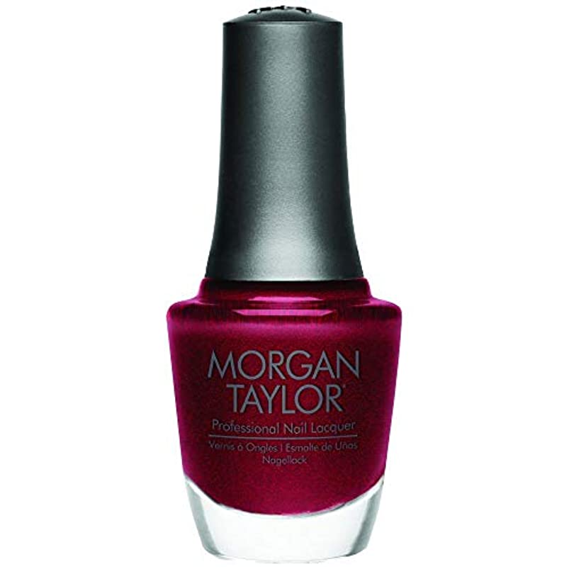 ワインクスクス税金Morgan Taylor - Professional Nail Lacquer - I'm So Hot - 15 mL / 0.5oz