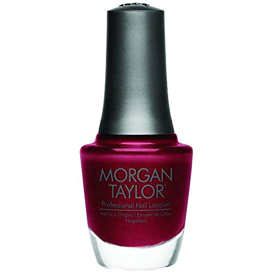 数値取り付けカポックMorgan Taylor - Professional Nail Lacquer - I'm So Hot - 15 mL / 0.5oz