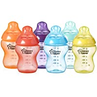 Tommee Tippee Closer to Nature Fiesta Bottle, 9 Ounce, 6 Count by Tommee Tippee [並行輸入品]