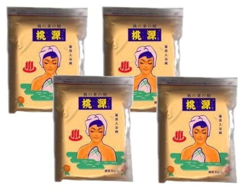 アシスト木製ナインへ桃源S 桃の葉の精 1000g 袋入り 4袋 (とうげん)