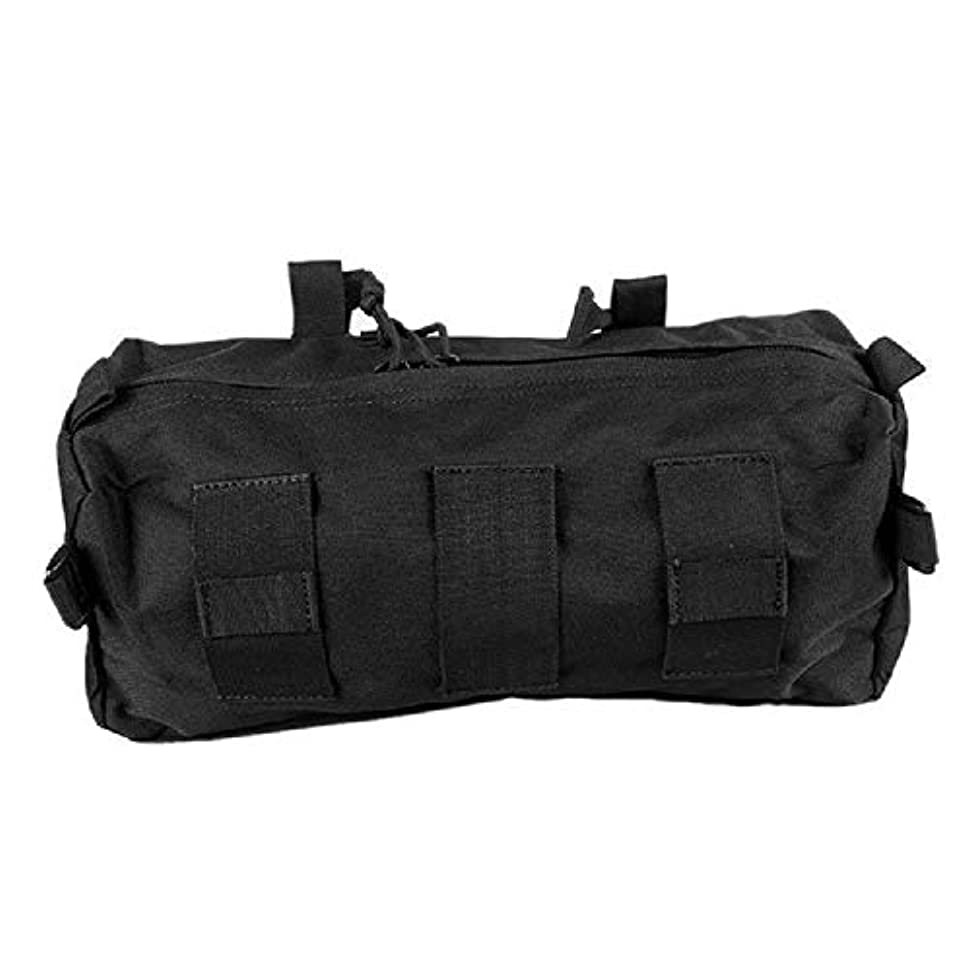 レール打撃交通渋滞大きなゴミ袋を装備した屋外迷彩戦術軍ファン付属の収納袋多機能スポーツバッグ (Color : A, Size : 37*15*11cm/14.6*5.9*4.3in)