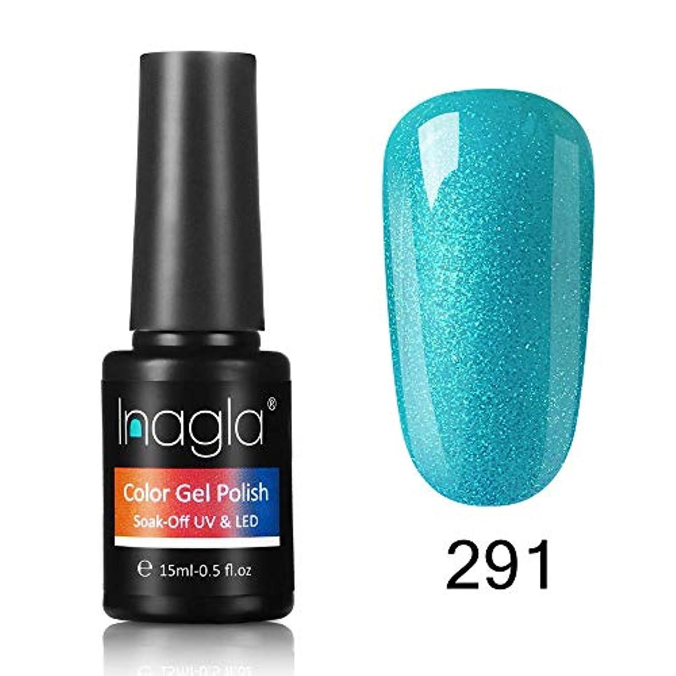 酸素パフ多様体Inagla ジェルネイル カラージェル 1色入り 15ml-GNS291