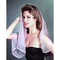 ブロマイド写真★ブリジット・バルドー/ピンクのベールをまとう