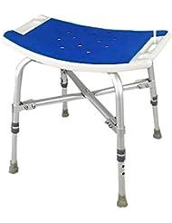 高さ調整可能 バス/シャワースツール ハンディキャップシャワーシート 障害者支援 人間工学に基づいた バスタブリフトチェア パディング付き 高齢者、障害者、成人向け ヘビーデューティ