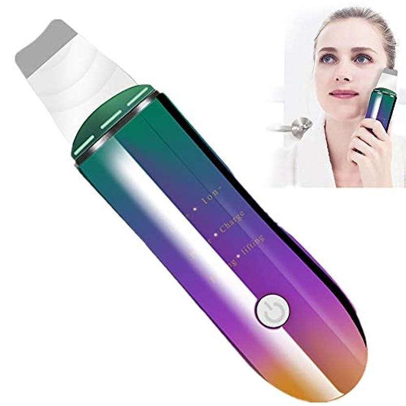 自動的にホーム無効顔の皮膚のスクラバー負&正イオンは、血液の循環を促進し、しわをなくすブラックヘッドにきび、死んだ皮膚の油を取り除き、あなたの皮膚を引き締める&促進します