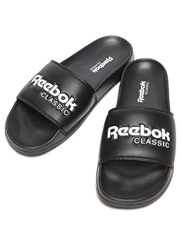 [リーボック] ロゴ シャワーサンダル CLASSIC SLIDE ブラック / 27.0