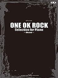ピアノソロ ONE OK ROCK Selection for Piano ~We are~