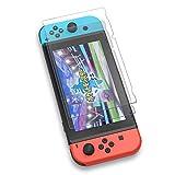 Nintendo Switch 保護フィルム YOSH ガラスフィルム 2枚入り ブルーライト95%カット 硬度9H 高透過率0.26mm 飛散防止 指紋防止 気泡ゼロ ニンテンドー スイッチ 液晶 画面 保護 シート 2枚