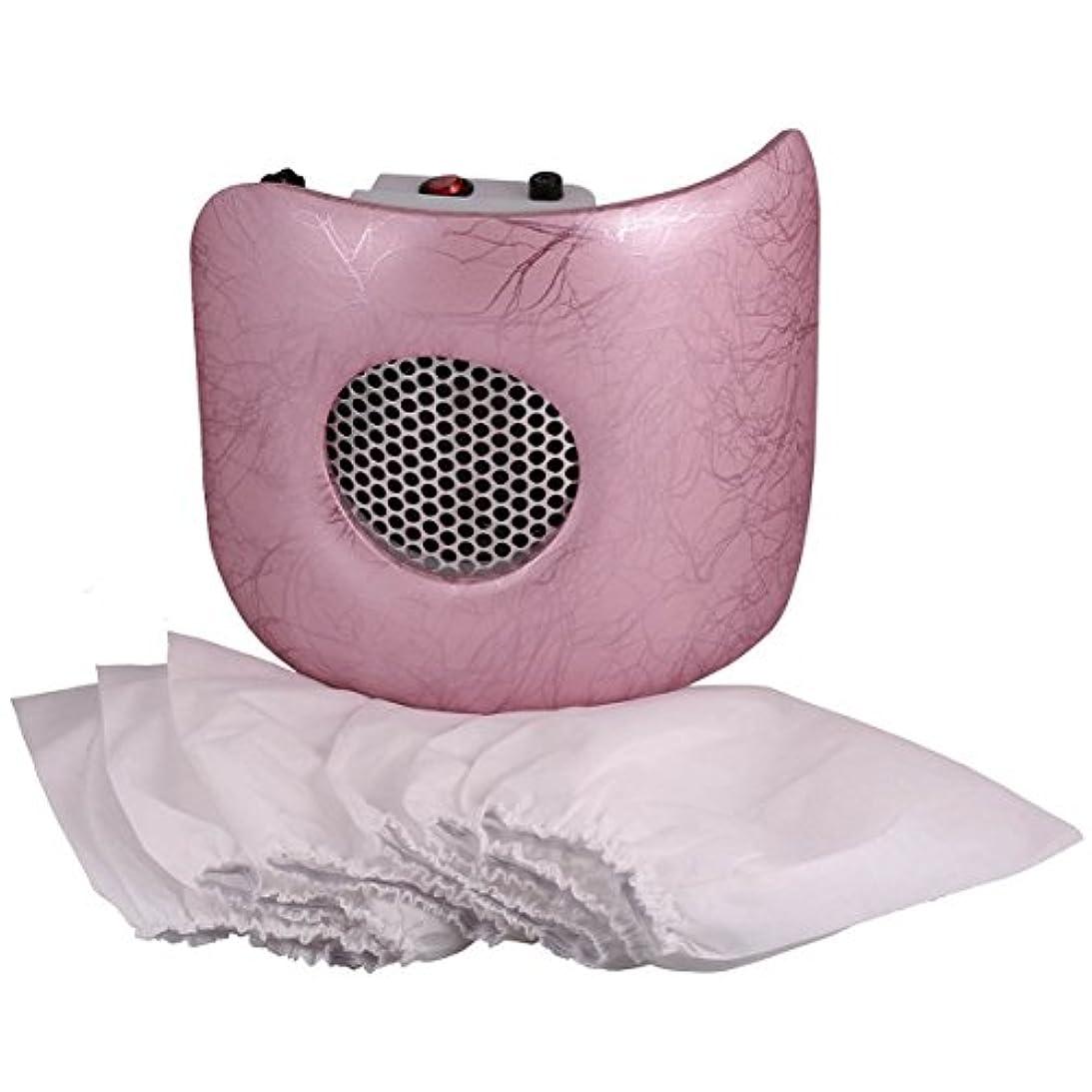 成功肺老朽化したMiss Sweet 電動ネイルダストコレクター ネイルダスト吸引 (Pink)