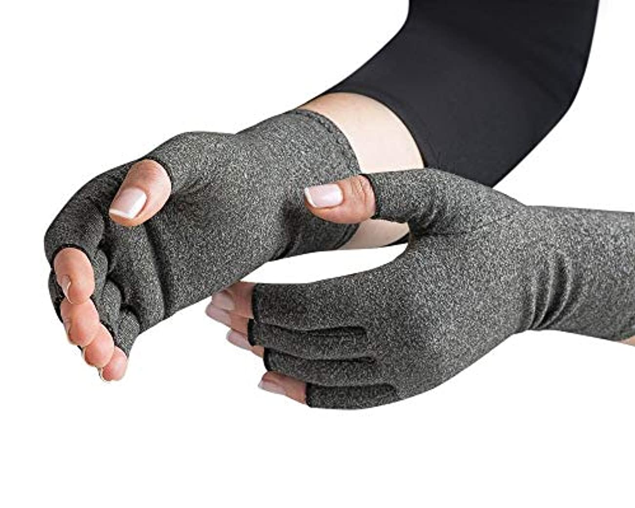 商品共役まさにOriginal with Arthritis Foundation Ease of Use Seal Compression Gloves, Arthritis Glove