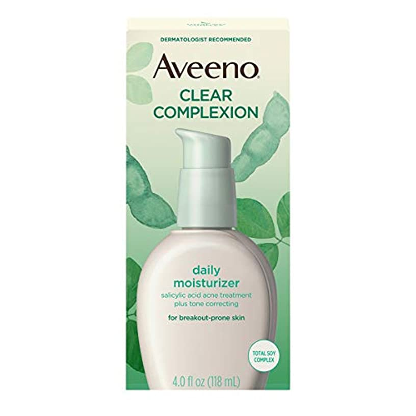 ワンダー沿って取得するAveeno Clear Complexion Daily Moisturizer 120 ml