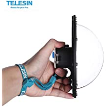 TELESIN GP-DMP-Session Dome Port for GoPro Hero Session/5/4 Camera Underwater Diving Transparent Lens Housing Dome