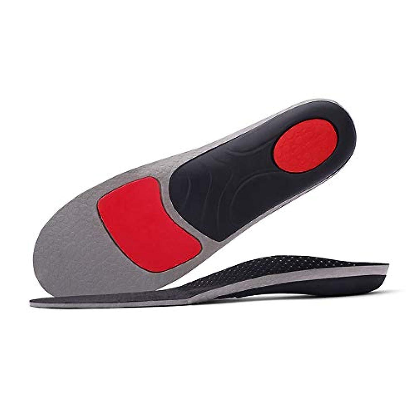 郊外敵意アラートKLXLJZXZ 整形外科インソールフラットフットアーチサポート男性と女性の靴の衝撃吸収性インソール