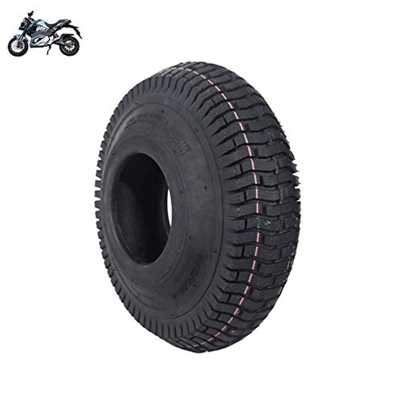 のスコアライラック長椅子タイヤ、電動スクータータイヤ、4.10 / 3.50-4ノンスリップインナーおよびアウタータイヤ、耐摩耗性および耐パンク性、ヘビーデューティー、電動トロリータイヤに最適