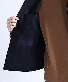 Vincent et Mireille Moleskin Work Jacket 15598900010: Navy