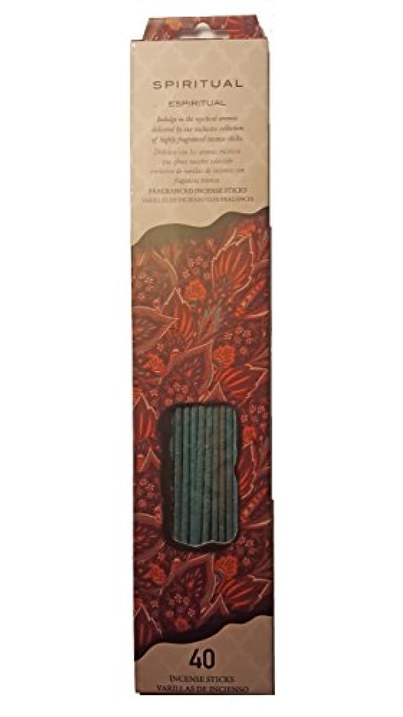 セイはさておき解釈敏感なFlora Classique Spiritual Incense、40 ct