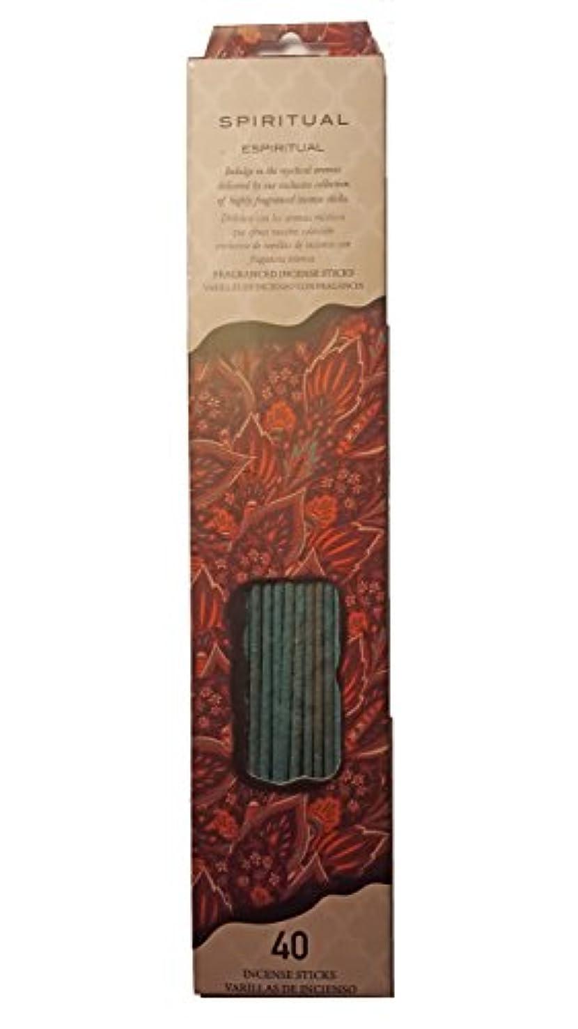 線の頭の上六Flora Classique Spiritual Incense、40 ct