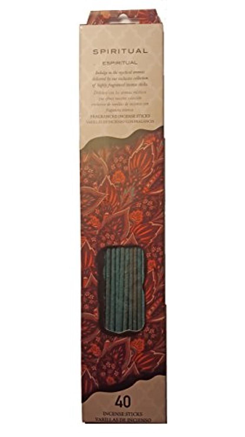 建物普遍的なお手入れFlora Classique Spiritual Incense、40 ct