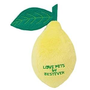 ベストエバー 犬用おもちゃ レモンの音の鳴るおもちゃ