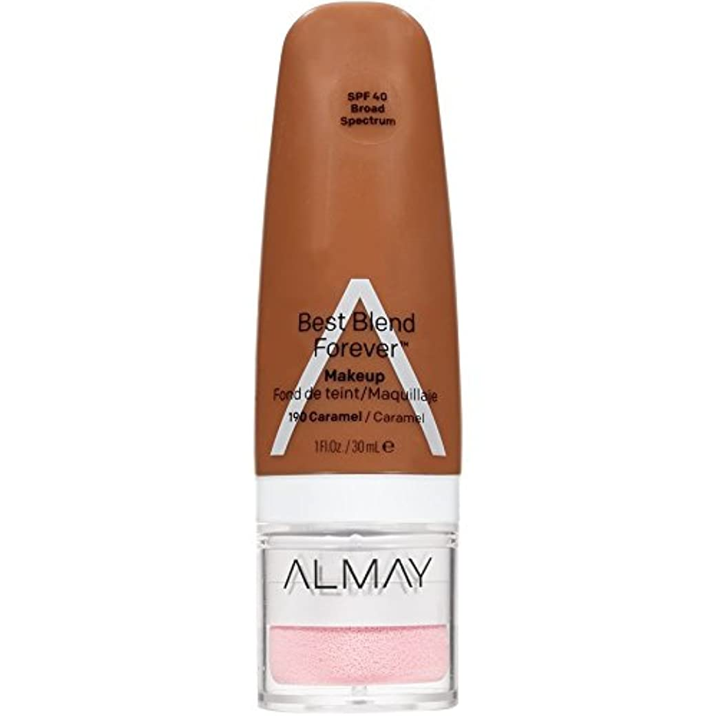鋸歯状養うヤングAlmay Best Blend Forever, 190 Caramel, 30 ml