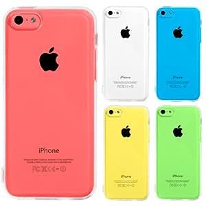 Highend berry iPhone 5c ストラップ ホール 付き ソフト TPU ケース 保護 キャップ 有り ストラップ 付き