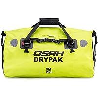 多機能キャリアバッグ ショルダーストラップ付き 反射テープ付き ワンタッチ装着 防水 軽量 丈夫 完全防水 ドラムバッグ ツーリングシートバッグ オートバイ アウトドア (40L)