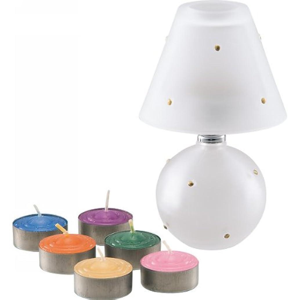 シンボル人工強風ランプ&アロマキャンドル
