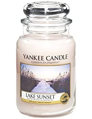 Yankee Candle Large Jar Candle, Lake Sunset by Yankee [並行輸入品]