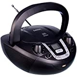 Portable Boombox CD Player AM/FM Stereo Radio Bluetooth Music Display Aux-in