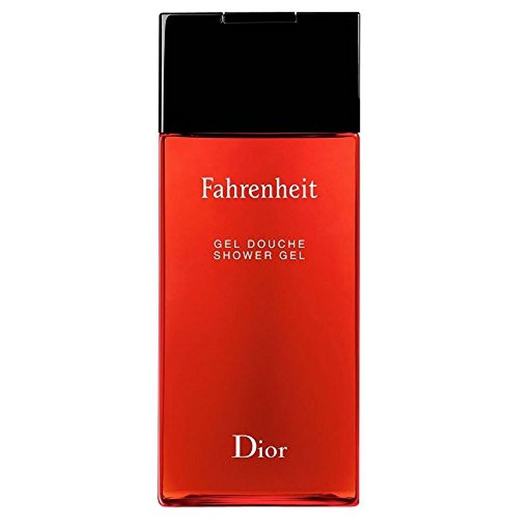 サラダ不名誉半径[Dior] ディオール華氏発泡シャワージェル200Ml - Dior Fahrenheit Foaming Shower Gel 200ml [並行輸入品]
