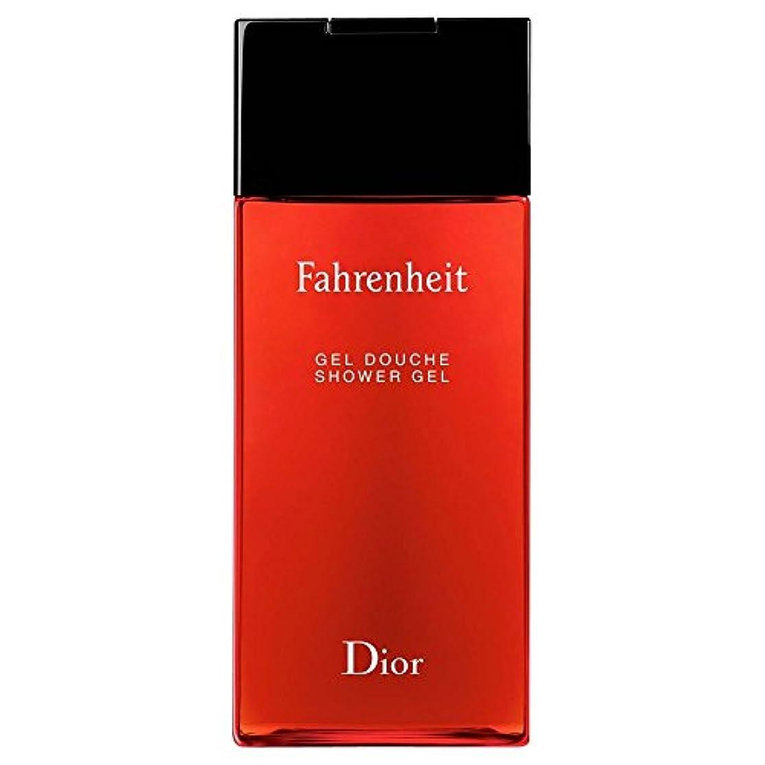 聖人乏しい省略[Dior] ディオール華氏発泡シャワージェル200Ml - Dior Fahrenheit Foaming Shower Gel 200ml [並行輸入品]