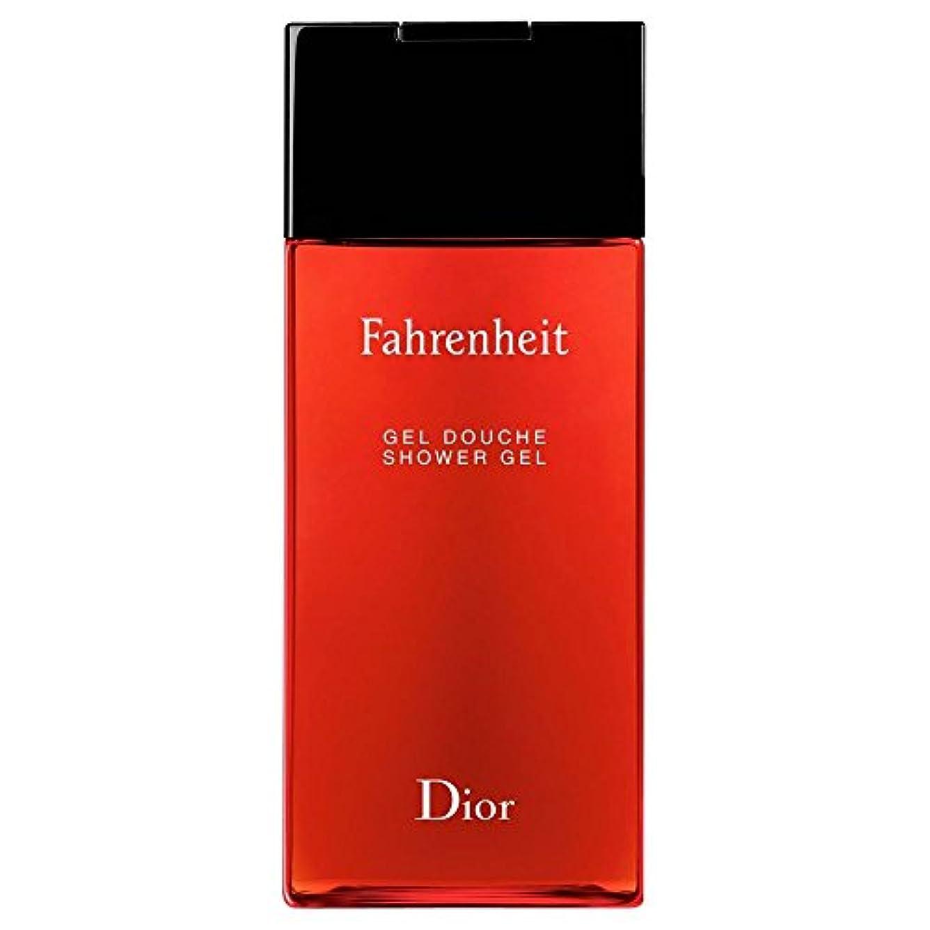 メンダシティ達成戦士[Dior] ディオール華氏発泡シャワージェル200Ml - Dior Fahrenheit Foaming Shower Gel 200ml [並行輸入品]