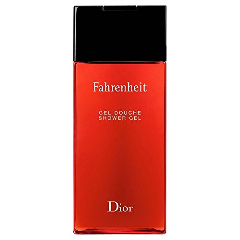 コークス屋内で箱[Dior] ディオール華氏発泡シャワージェル200Ml - Dior Fahrenheit Foaming Shower Gel 200ml [並行輸入品]