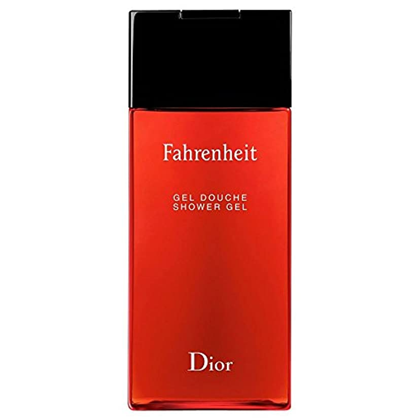 [Dior] ディオール華氏発泡シャワージェル200Ml - Dior Fahrenheit Foaming Shower Gel 200ml [並行輸入品]