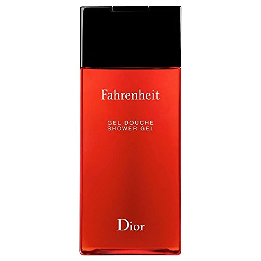 黙認するプラスそれぞれ[Dior] ディオール華氏発泡シャワージェル200Ml - Dior Fahrenheit Foaming Shower Gel 200ml [並行輸入品]