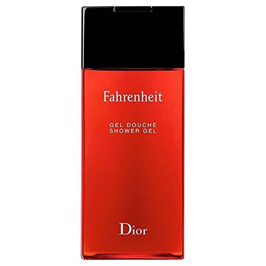 アグネスグレイシーボード達成する[Dior] ディオール華氏発泡シャワージェル200Ml - Dior Fahrenheit Foaming Shower Gel 200ml [並行輸入品]