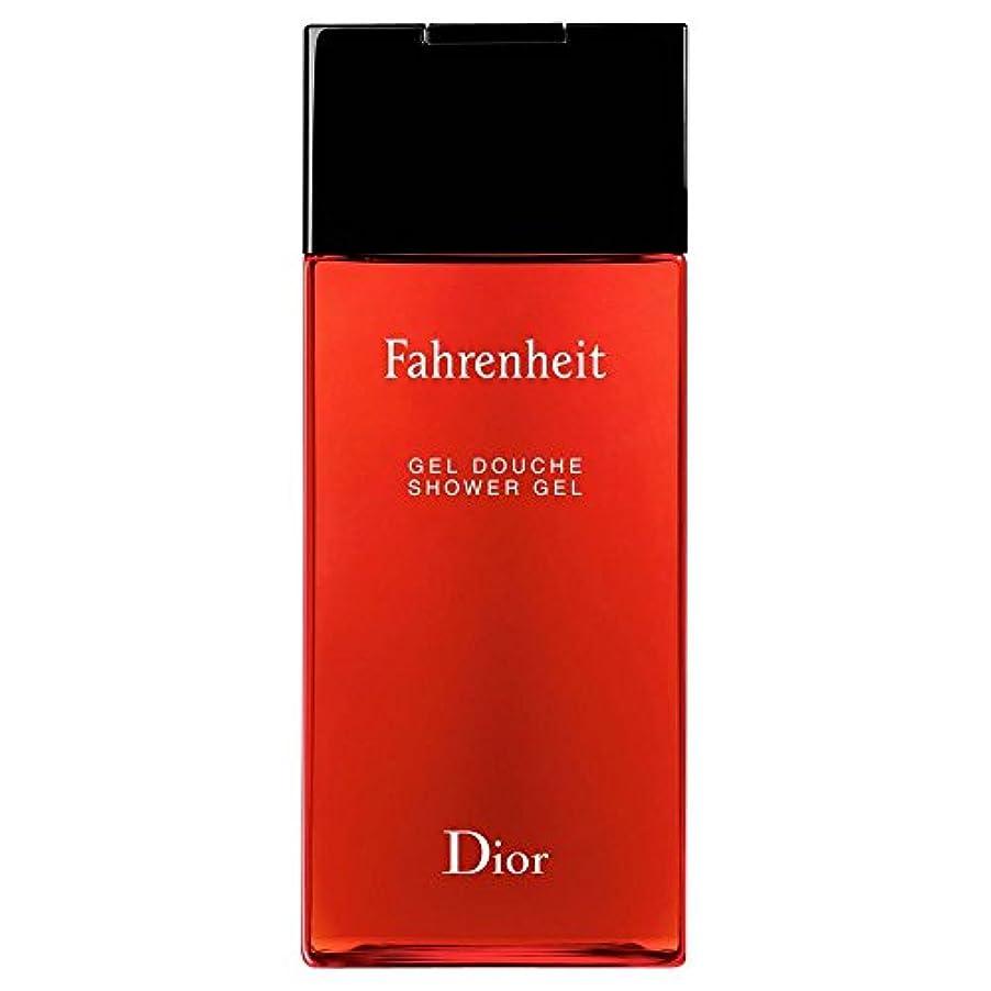 堂々たる小説家関連付ける[Dior] ディオール華氏発泡シャワージェル200Ml - Dior Fahrenheit Foaming Shower Gel 200ml [並行輸入品]