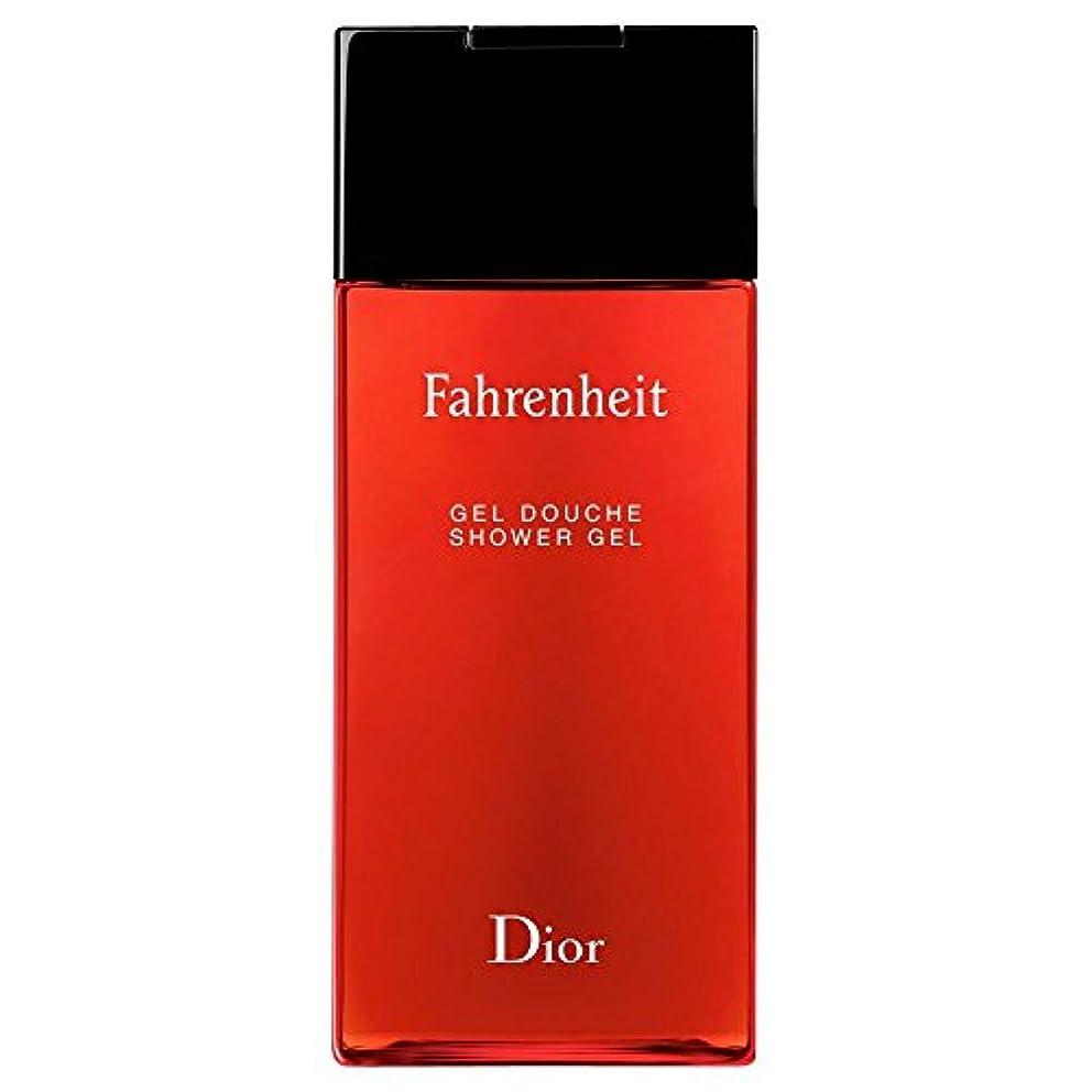 オペレーター毒液繰り返す[Dior] ディオール華氏発泡シャワージェル200Ml - Dior Fahrenheit Foaming Shower Gel 200ml [並行輸入品]