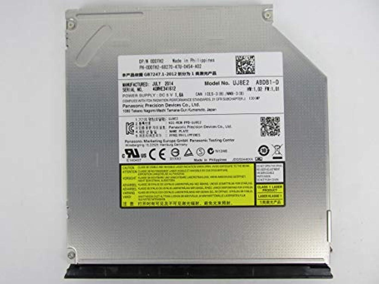 元気な検出注意Dell DVD - RWドライブddth2 uj8e2 Inspiron 5535 3521 3421 5537 3437