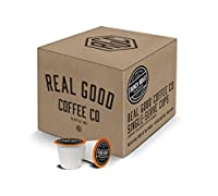 Real Good Coffee Co Recyclable K Cups, French Roast Dark, For Keurig K-Cup Brewers, 36 Single Serve Coffee Pods