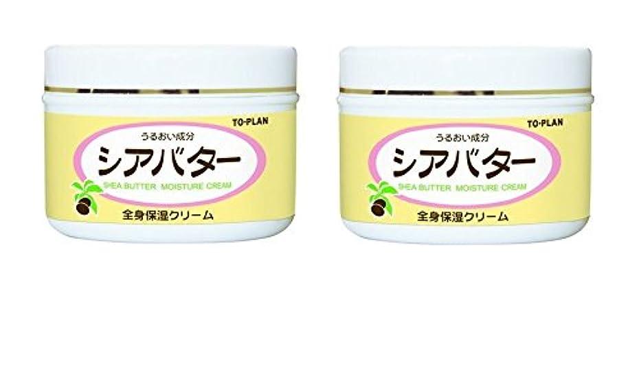 閉じ込める保護眠る【まとめ買い】シアバター全身保湿クリーム 170g × 2個