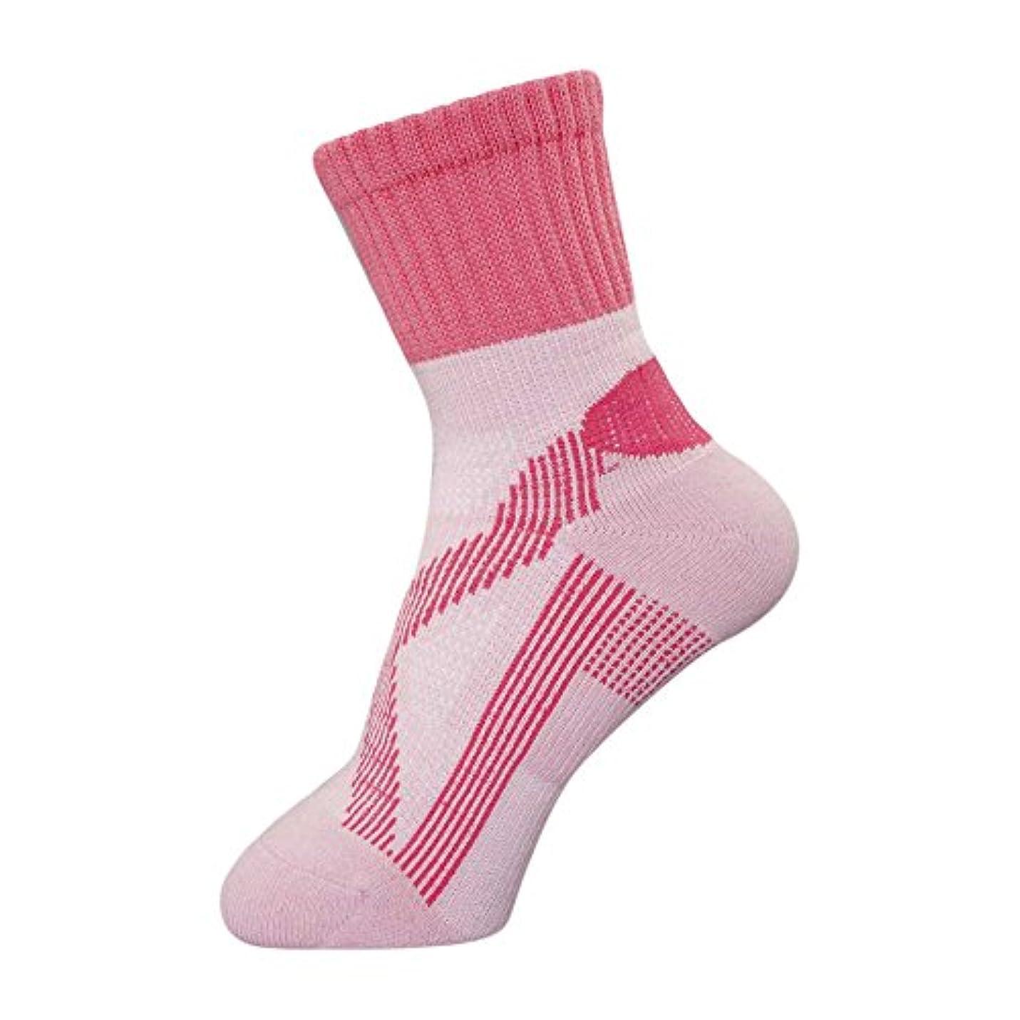 無効にする独立した殺すbonbone テーピングソックス 女性用  ピンク 22-25cm