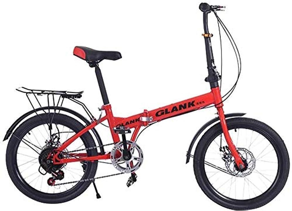 宿る子孫送ったバイクFlodingマウンテンバイク子供青少年自転車20インチマウンテン自転車Flodingバイク ZHAOSHUNLI (Color : Red)